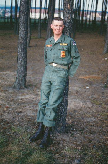 Mr. Noon in Grafenwahr, Germany 1957