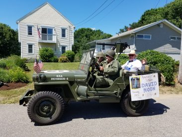 Mr. Noon as the Honored Veteran for the 2017 Fourth of July Parade